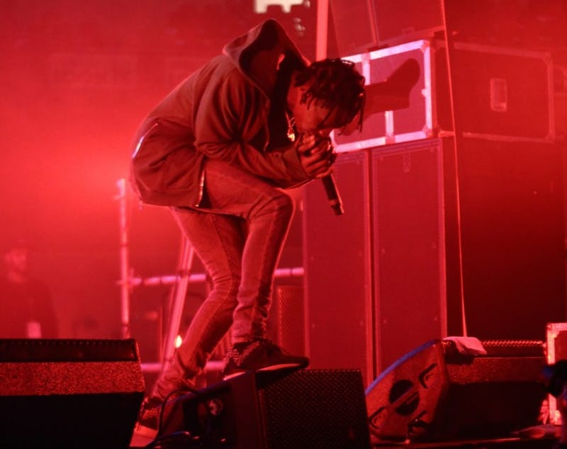 RZOM_/CC-BY-SA-2.0 Travis Scott follows up his hit album, Rodeo, with his sophomore effort Birds in the Trap Sing McKnight.