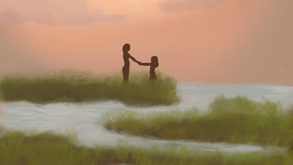 ROSIE JANG/CARTOONS EDITOR Zimmerman first discovered the marsh on a walk with her mother.