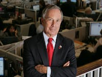 Rubenstein/CC BY 2.0 Michael Bloomberg, Class of 1964, has made the largest gift to a U.S. college or university in history.