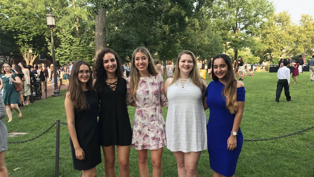 COURTESY OF SANIYA RAMCHANDANI Ramchandani shares lessons from her time at Hopkins with her freshman self.