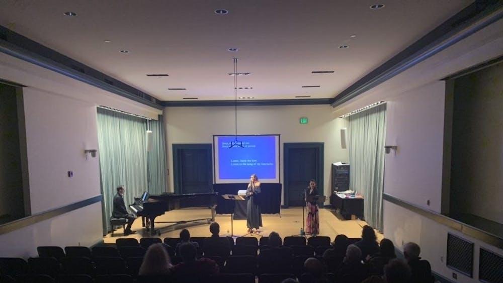 COURTESY OF EUNICE PARK Sarah Aroeste performed in Ladino, the language of the Sephardim.