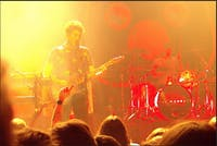 Courtesy of Amelia Isaacs  Liverpool natives The Wombats performed at Rams Head Live! concert