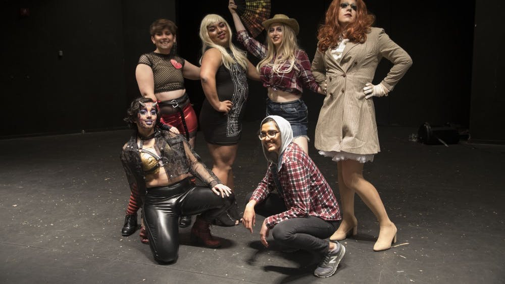 COURTESY OF TONY YANG oSTEM hosted their first annual drag show with seven student performers on April 21.