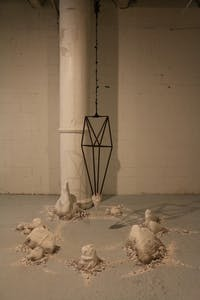 Courtesy of MIA CAPOBIANCO Work by Caroline Hatfield is currently on view at La Bodega Gallery.