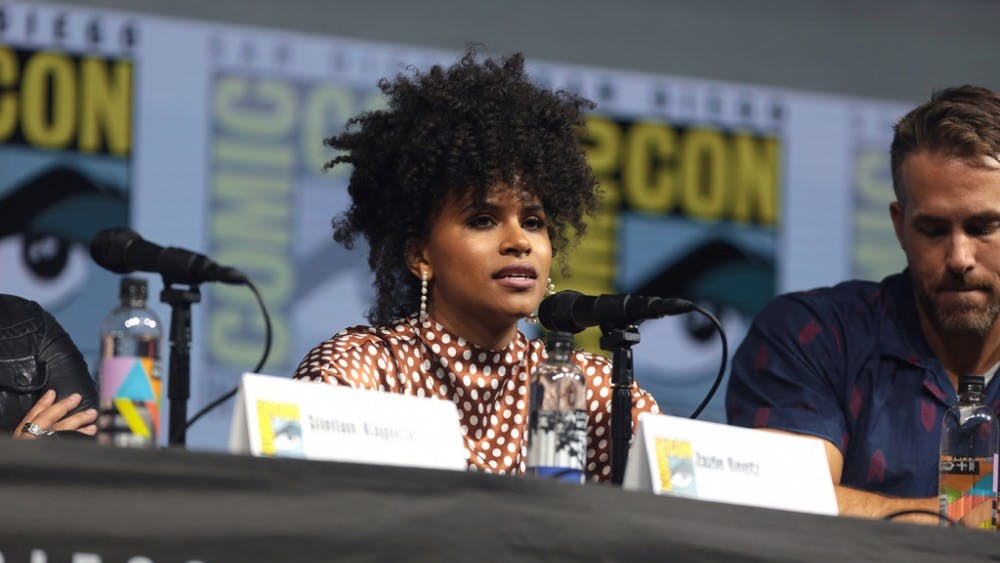 Gage Skidmore/CC BY-SA 2.0 Actress Zazie Beetz stars as Sam in new sports drama film High Flying Bird.