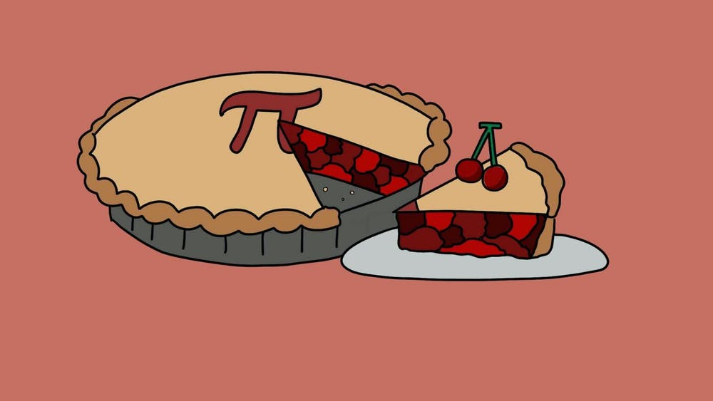 ROSIE JANG/CARTOONS EDITOR There is no better way to celebrate Pi Day than by making some pie.
