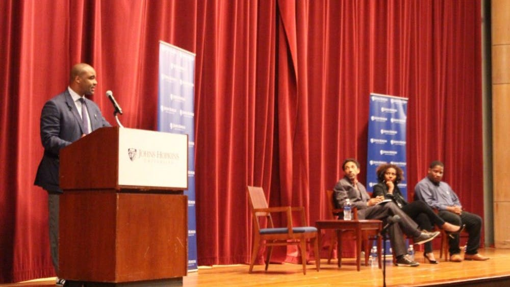 COURTESY OF EDA INCEKARA JHU Forums on Race in America invited speakers to discuss race relations in America.