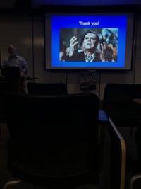 COURTESY OF TRISHA PARAYIL Kaplan noted striking similarities between villains and certain illnesses.