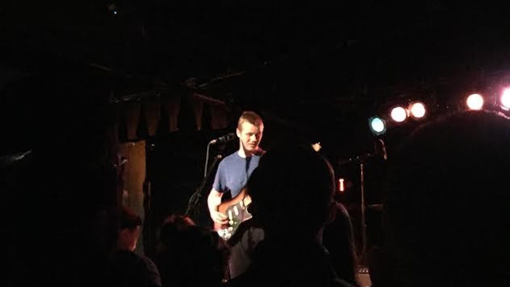 Courtesy of Charlotte Wood Pinegrove, an indie rock band, performed at the Black Cat in D.C. on Thursday, February 21.
