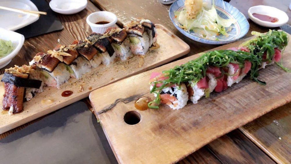 COURTESY OF ALANNA DU Shoyou Sushi: a personal favorite of Du's in the Federal Hill neighborhood.