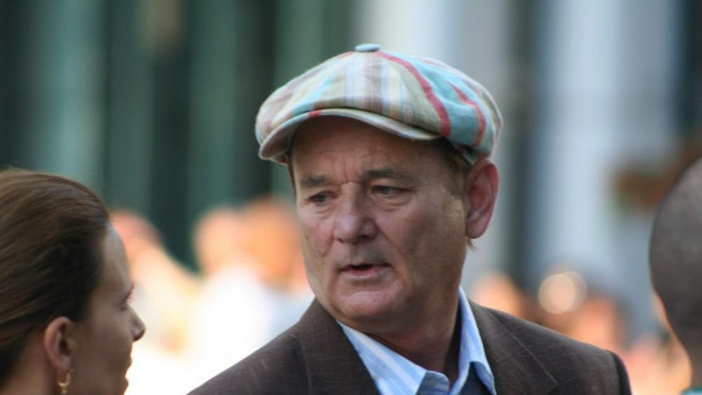 PAUL SHERWOOD/CC-by-2.0 Bill Murray stars as the miserable old man Vincent MacKenna in Theodore Melfi's 2014 film St. Vincent.