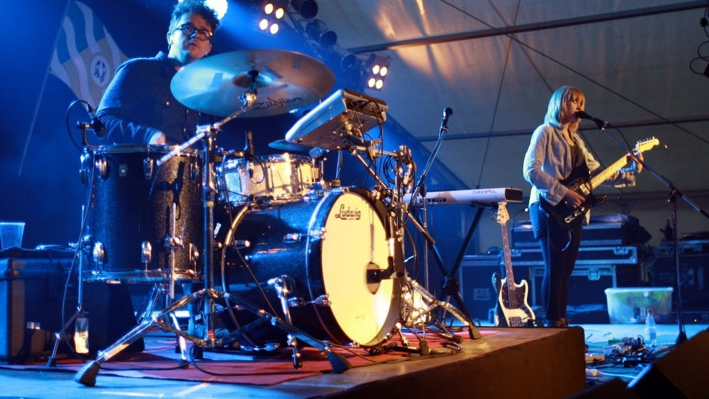 ENDLESS AUTUMN/CC BY-A 2.0 Baltimore indie rock duo Wye Oak was founded by Andy Stack and Jess Wasner in 2006.