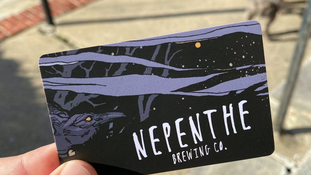 COURTESY OF HUNTER HARRINGTON Skillful trivia can beget prizes, such as this $25 gift card from Nepenthe.