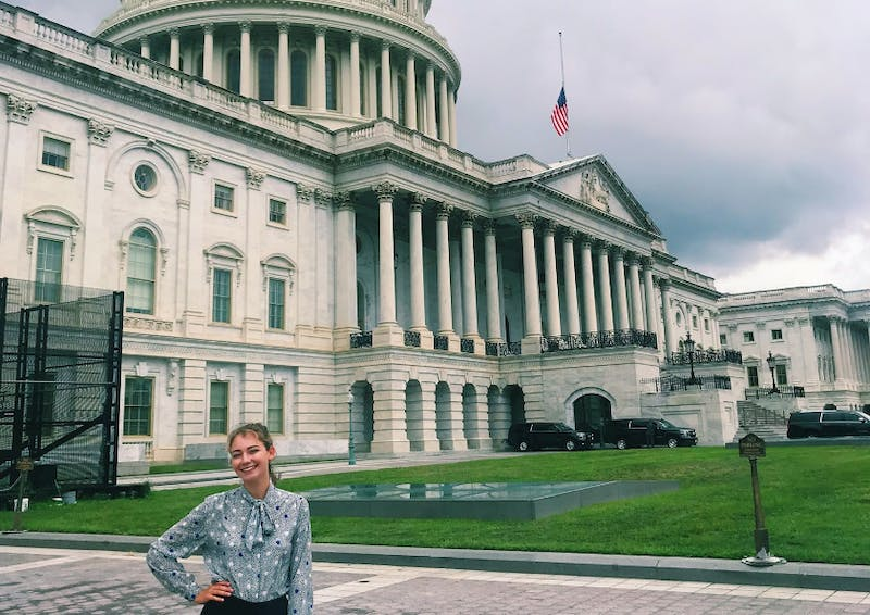 COURTESY OF ALEX WALINSKAS Walinskas reflects on how D.C. compares to Baltimore, her longtime home.