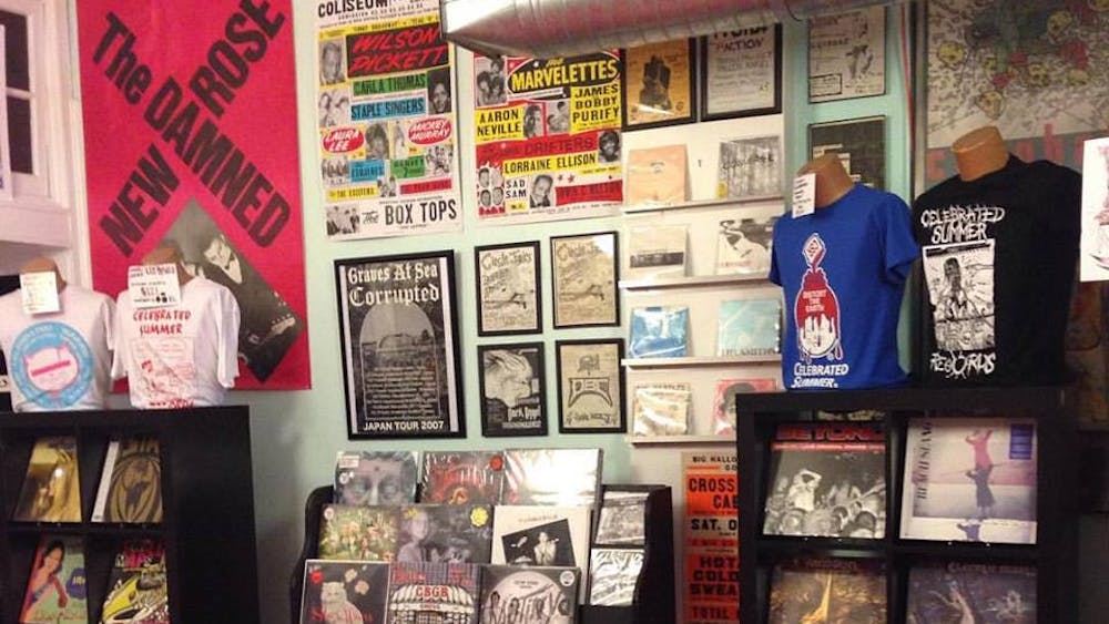 COURTESY OF WILL KIRSCH Celebrated Summer Records is celebrating its 10th year anniversary as one of Hampden's landmarks.