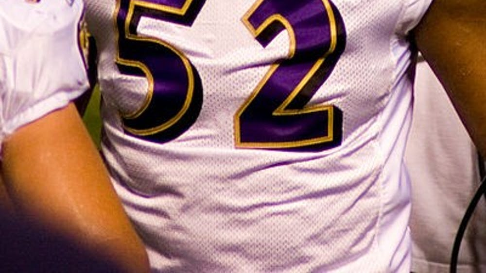 ANDY/CC BY 2.0 Ray Lewis is known as a football star even though he was accused of murder.