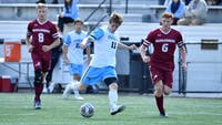 Jake Kooyman opened the scoring in Hopkins' 2-0 win against Ursinus.
