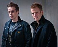 LAETITIAX0/CC-BY-SA-3.0 Tritonal is the Texas-based EDM DJ duo made up of Dave Reed (left) and Chad Cisneros.