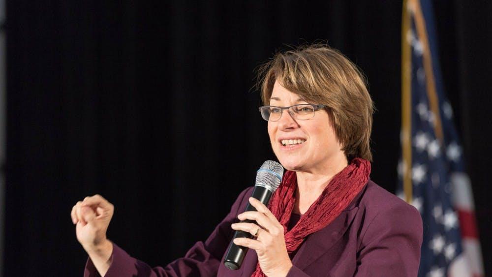 Lorie Shaull/CC By-sa 2.0 Senator Klobuchar has been accused of mistreating members of her team.