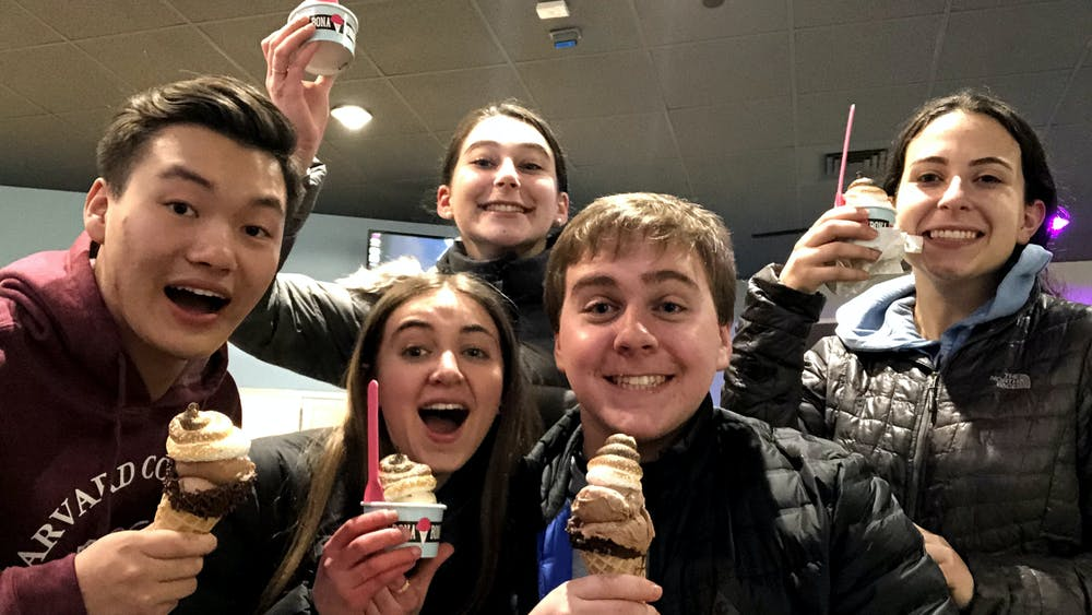 COURTESY OF GABRIEL LESSER For Lesser, March 2020 began with Parasite and ice cream.