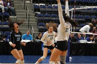 HOPKINSSPORTS.COM Volleyball finished their historic season with an NCAA Championship.