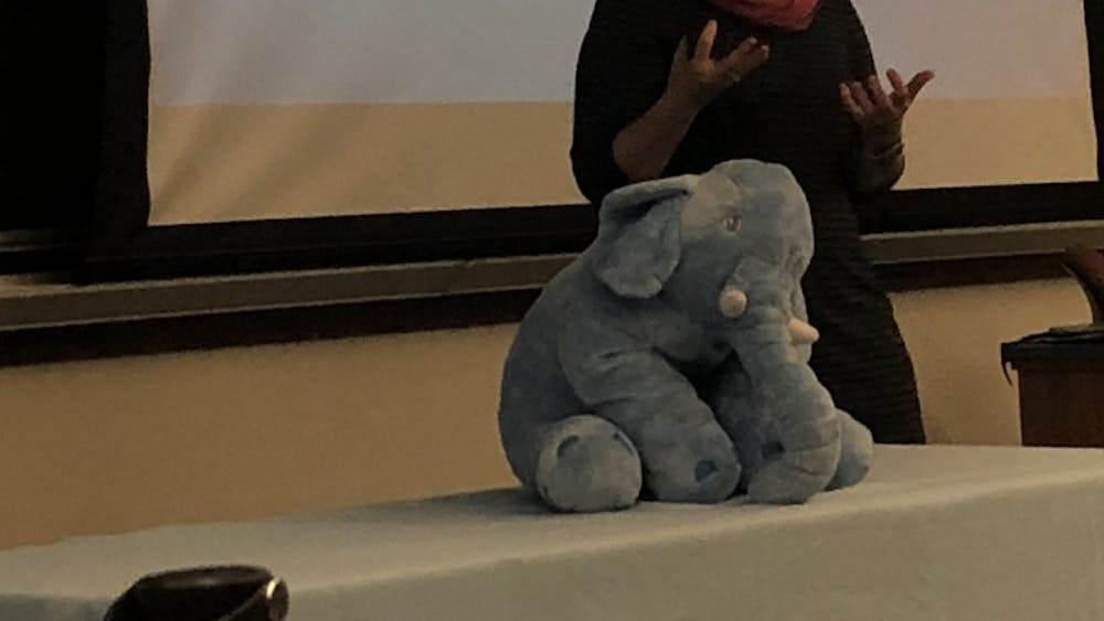 """COURTESY OF AASHNA SUNDESHA Speakers at the """"Dimensions of Connection"""" event approached empathy from different angles."""