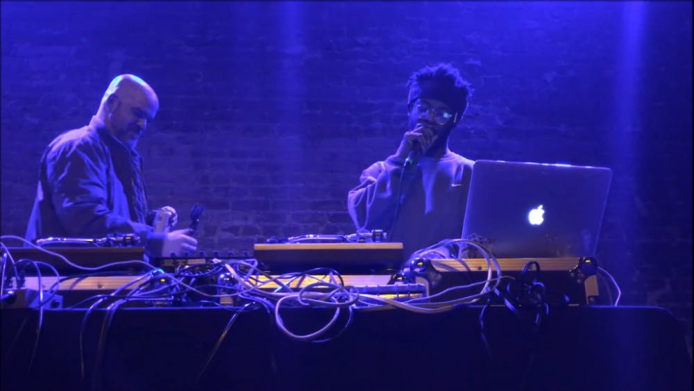 WOWEDITS/cc-by-SA-4.0 Producer Knxwledge performs live at the Hi Hat in Los Angeles after five releases in 2016.