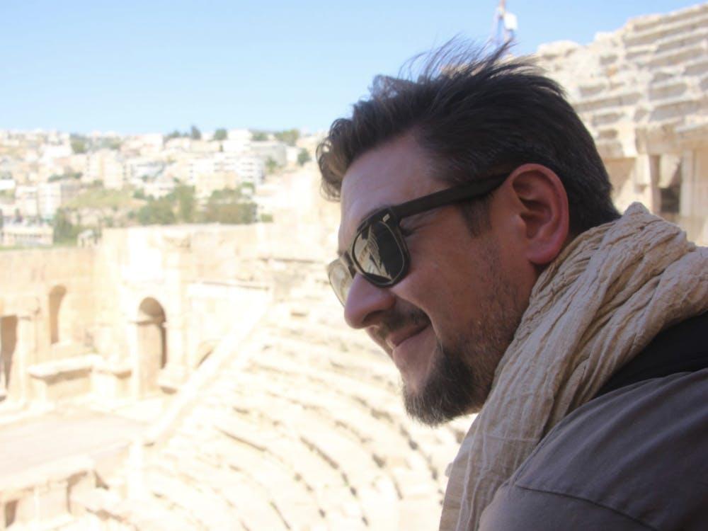 COURTESY OF MATTHEW PAVESICH Meet Matt, the director of the Expository Writing Program.