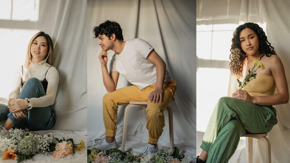 COURTESY OF RANJANI RAMASUBRAMANIAN Taara Projects' pants are handmade by artisans in Chennai, India.