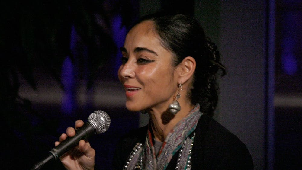 Manfred Werner/CC By-S.A 3.0 Shirin Neshat is an artist who explores themes relating to womanhood.