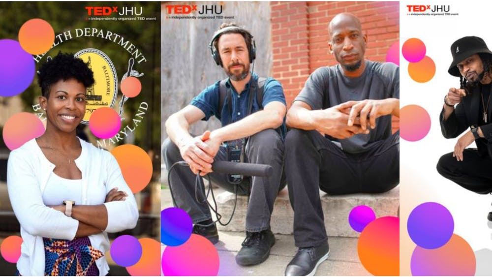 "COURTESY OF TEDxJHU Organizers chose the theme ""Kaleidoscope"" to capture the diversity of the city's voices."