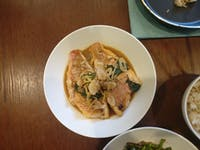 COURTESY OF JESSE WU Pan cooked fish with garlic, ginger and Chinese shiso, a family fave.