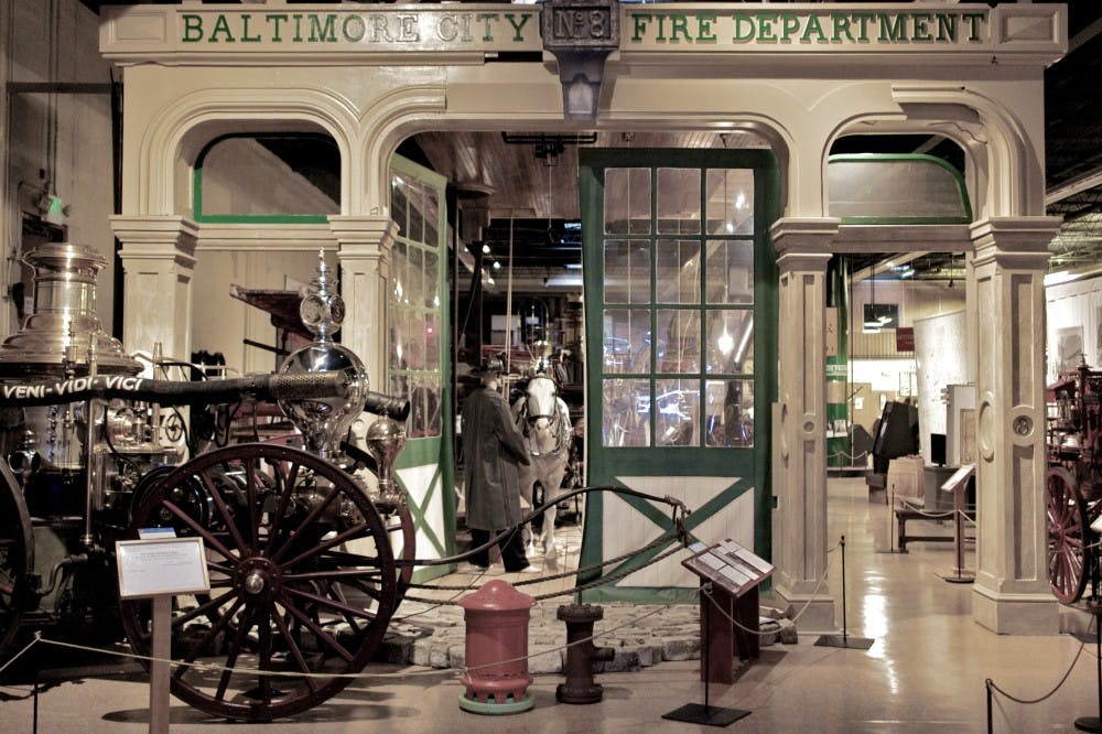 B2 YW Baltimore_City_Fire_Department_Engine_House_No._8