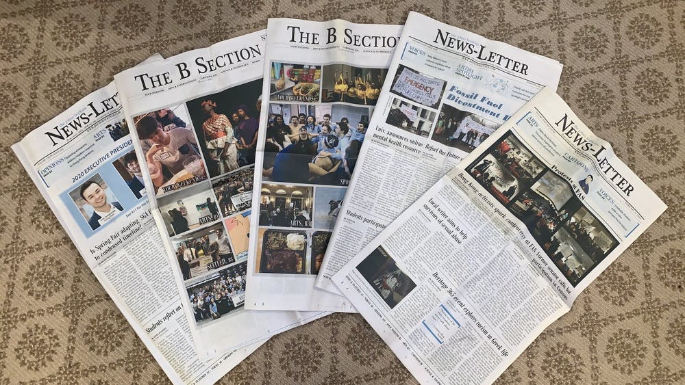 COURTESY OF KATY WILNER Public Editor Jake Lefkovitz is distributing a survey to better understand The News-Letter's readers.