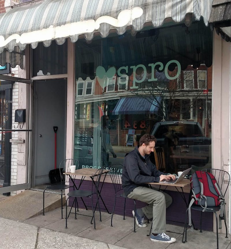 COURTESY OF VERONICA REARDON Spro Coffee offers carefully made coffees roasted near and far along with a calm, relaxing atmosphere.