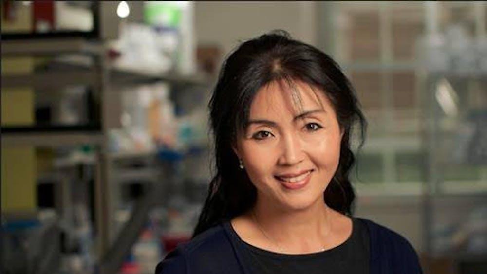 COURTESY OF SUA MYONG Myong is the head of the Single Molecule Imaging Lab.