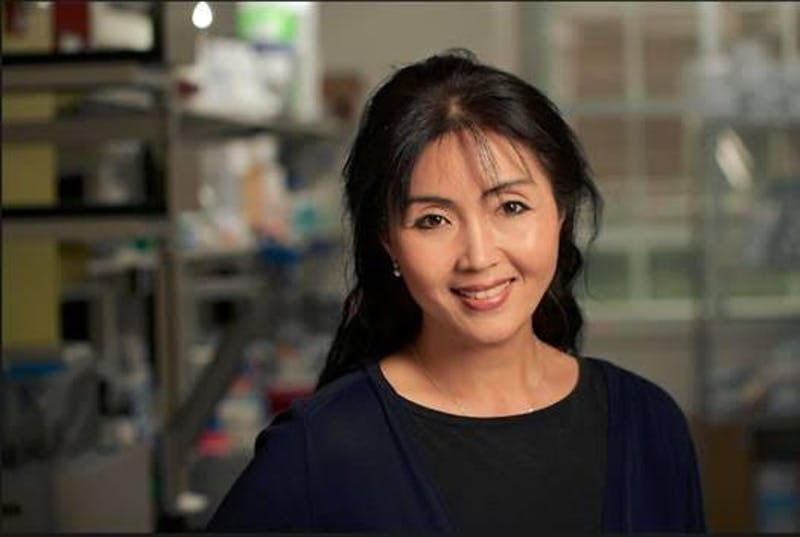 COURTESY OF SUA MYONG Myong is the head of the Single Molecule Imaging Lab.
