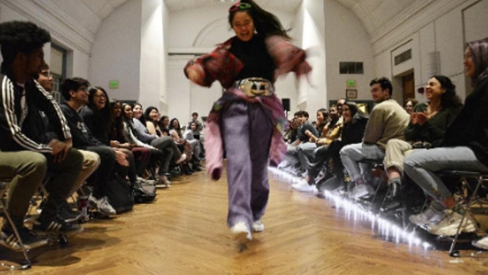 COURTESY OF MANSHA KAPUR The Sustainable Fashion Show featured many diverse eco-friendly outfits.