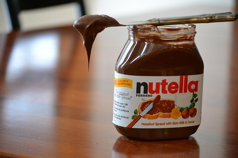COURTESY OF ALLISON.HARE/CC-BY SA 2.0 Whether it's Nutella or some other treat, indulge this Valentine's Day.