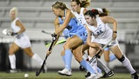 HOPKINSSPORTS.COM The team's eight goals are the most they've scored in a game since 2016.
