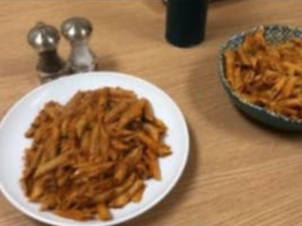 COURTESY OF SHIRLENE JOHN There's nothing better than testing out homemade pasta recipes with your roommates during exam season.
