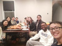 COURTESY OF JESSE WU Friendsgiving in Baltimore was the highlight of Wu's Thanksgiving Break.