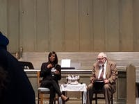 Courtesy of Ted Tak  Journalist discussed the history and legacy of Johns Hopkins.
