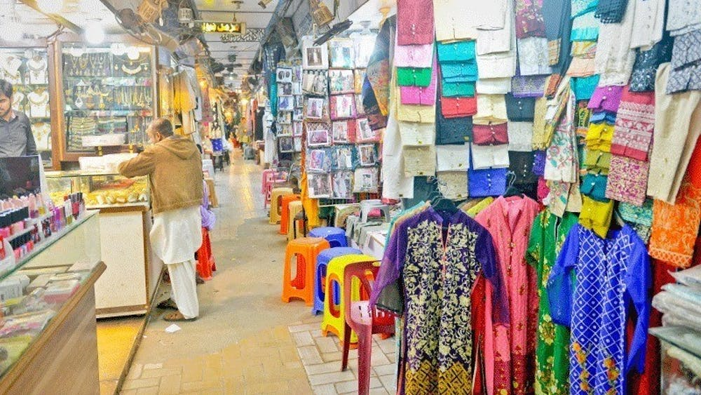 COURTESY OF ZUBIA HASAN Hasan remembers her after-school trips to markets with her amma.