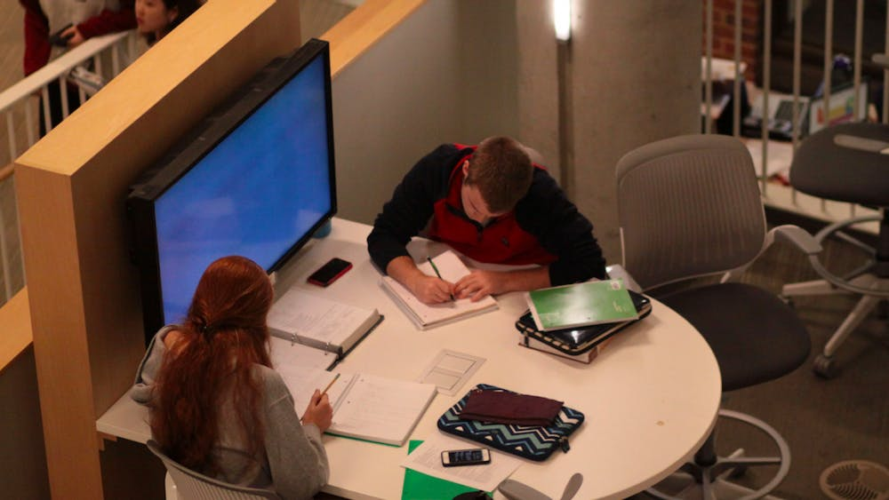 FILE PHOTO Lyu argues that uncovering grades could have many consequences for freshmen.