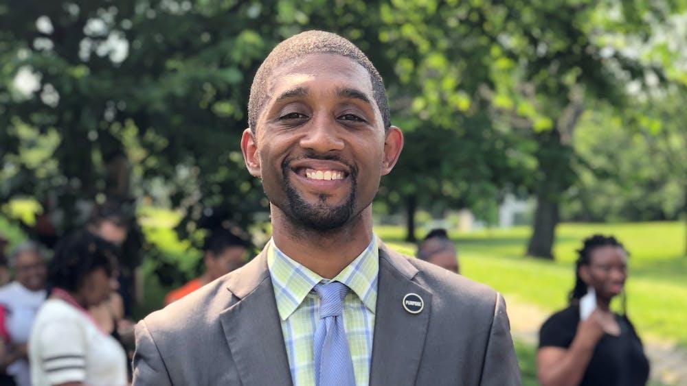 Praxidicae / CC BY-SA 4.0  Brandon Scott wins the Democratic primary for Baltimore Mayor.