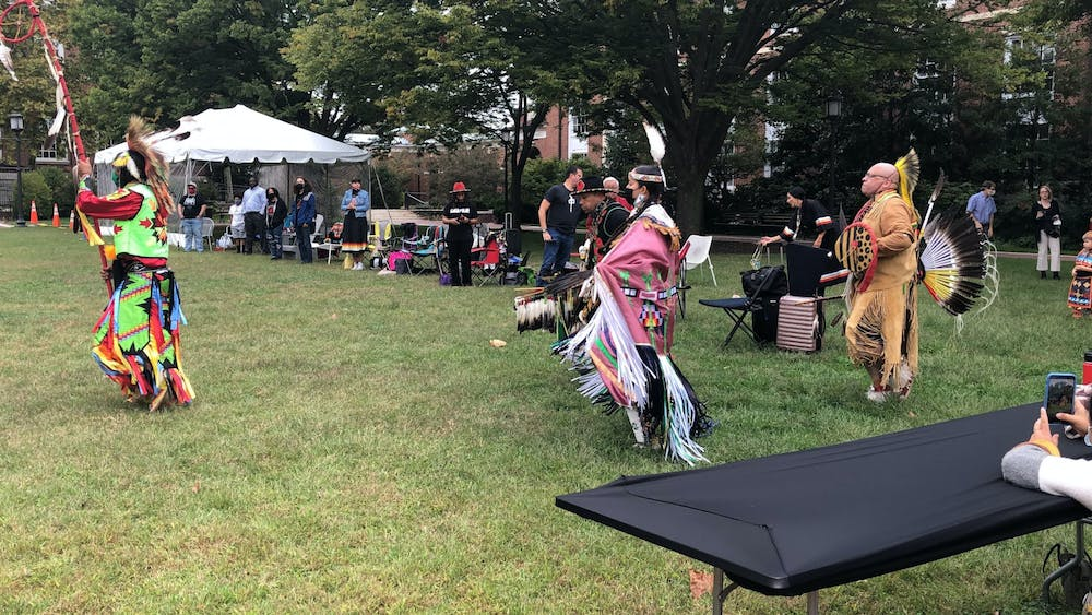COURTESY OF MIN-SEO Kim For many Indigenous peoples, events like powwows are a way to both reclaim and celebrate their cultures which were historically suppressed.