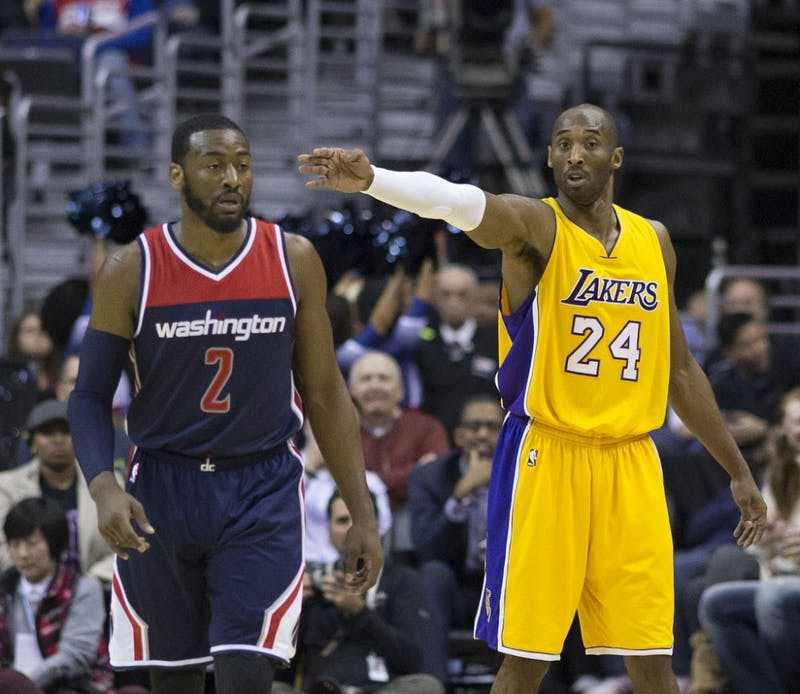 Keith Allison/CC BY-SA 2.0 2012 was Kobe Bryant's last strong year, but stars like John Wall replaced him.