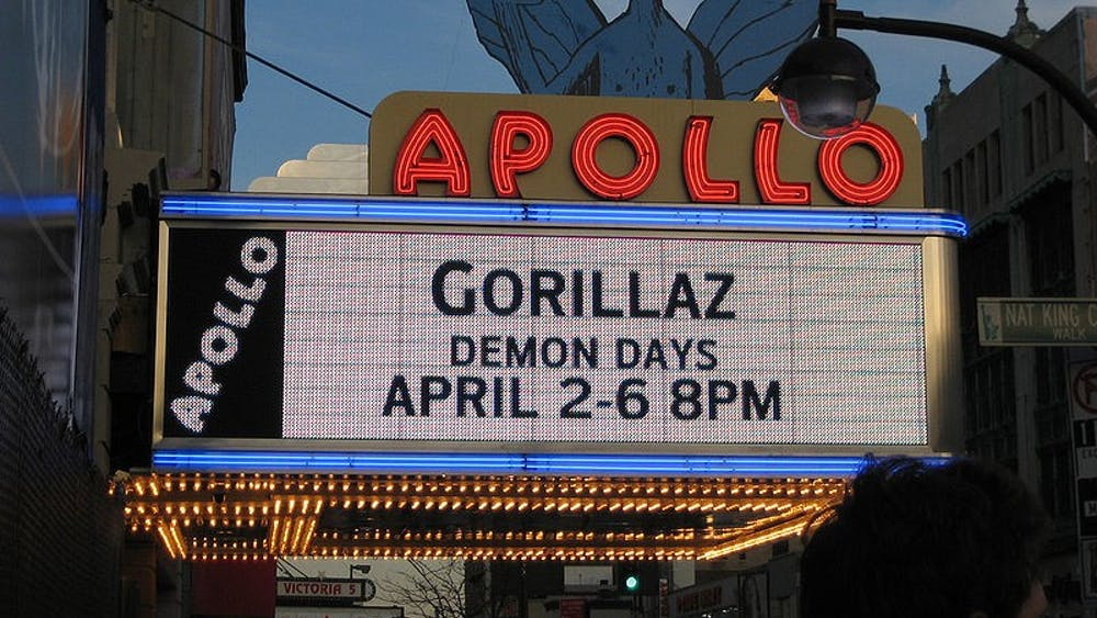 PUBLIC DOMAIN Gorillaz, a British band, performed at the Apollo Theater in 2006.
