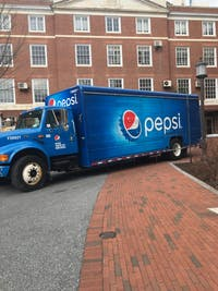 The PepsiCo contract ensures that 80 percent of beverages at Hopkins are made by Pepsi.